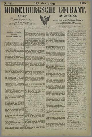 Middelburgsche Courant 1884-11-28