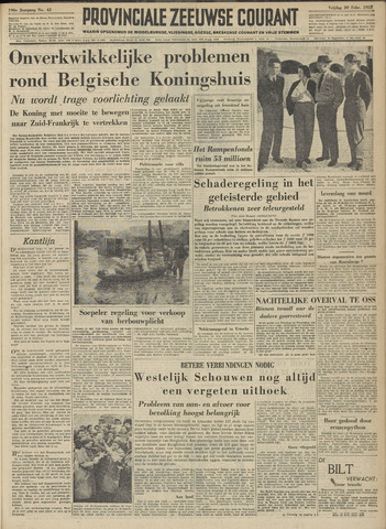 Provinciale Zeeuwse Courant 1953-02-20