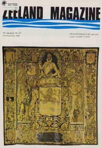 Zeeland Magazine / Veerse Meer Gids 1984-07-01