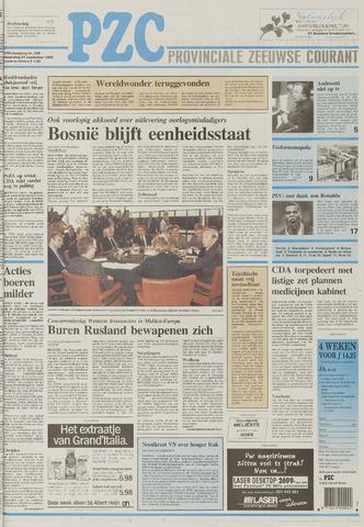 Provinciale Zeeuwse Courant 1995-09-27