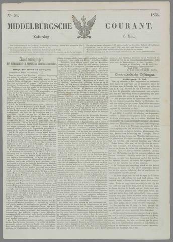 Middelburgsche Courant 1854-05-06
