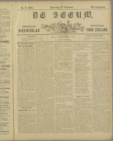 De Zeeuw. Christelijk-historisch nieuwsblad voor Zeeland 1901-10-12