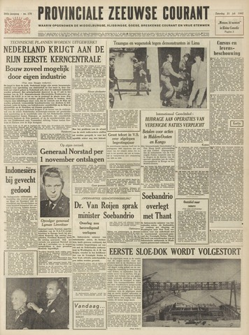 Provinciale Zeeuwse Courant 1962-07-21