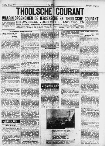 Ierseksche en Thoolsche Courant 1944-06-02