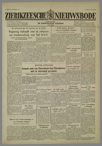 Zierikzeesche Nieuwsbode 1958-09-22