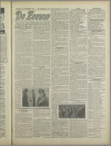 De Zeeuw. Christelijk-historisch nieuwsblad voor Zeeland 1943-11-12