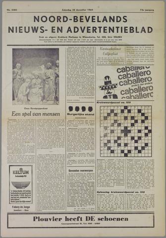 Noord-Bevelands Nieuws- en advertentieblad 1969-12-20