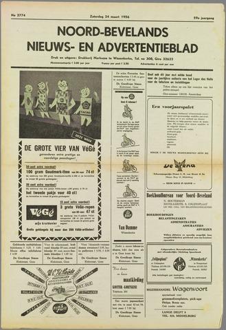 Noord-Bevelands Nieuws- en advertentieblad 1956-03-24