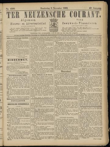 Ter Neuzensche Courant. Algemeen Nieuws- en Advertentieblad voor Zeeuwsch-Vlaanderen / Neuzensche Courant ... (idem) / (Algemeen) nieuws en advertentieblad voor Zeeuwsch-Vlaanderen 1902-11-06