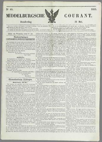 Middelburgsche Courant 1855-05-31