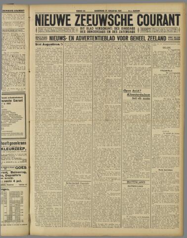 Nieuwe Zeeuwsche Courant 1925-08-27
