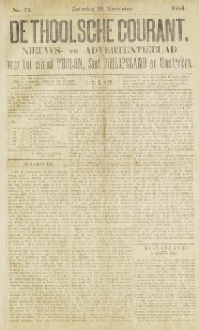 Ierseksche en Thoolsche Courant 1884-11-29