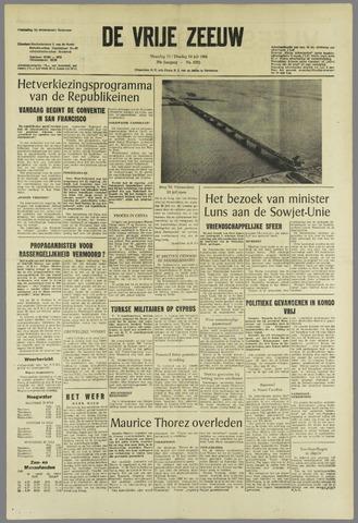 de Vrije Zeeuw 1964-07-13