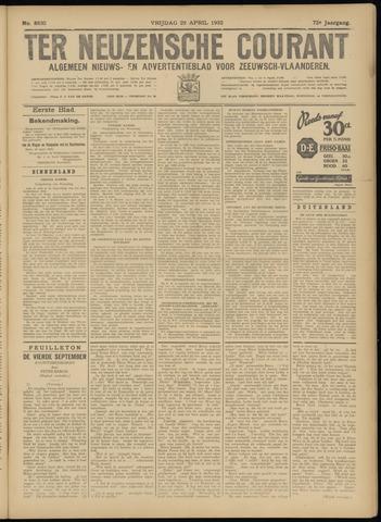 Ter Neuzensche Courant. Algemeen Nieuws- en Advertentieblad voor Zeeuwsch-Vlaanderen / Neuzensche Courant ... (idem) / (Algemeen) nieuws en advertentieblad voor Zeeuwsch-Vlaanderen 1932-04-29