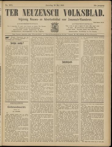 Ter Neuzensch Volksblad. Vrijzinnig nieuws- en advertentieblad voor Zeeuwsch- Vlaanderen / Zeeuwsch Nieuwsblad. Nieuws- en advertentieblad voor Zeeland 1912-05-25