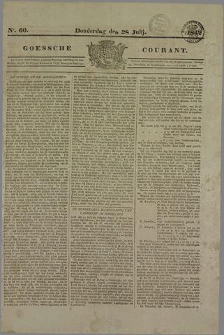 Goessche Courant 1842-07-28