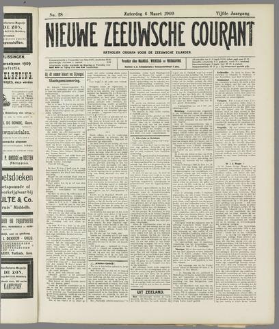 Nieuwe Zeeuwsche Courant 1909-03-06