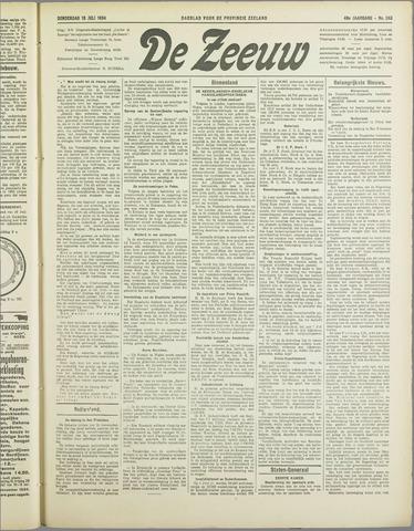 De Zeeuw. Christelijk-historisch nieuwsblad voor Zeeland 1934-07-19