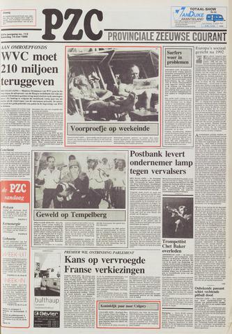 Provinciale Zeeuwse Courant 1988-05-14