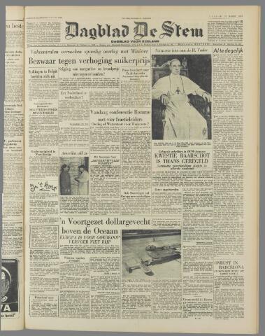 de Stem 1951-03-13