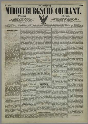 Middelburgsche Courant 1893-06-13