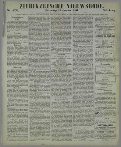 Zierikzeesche Nieuwsbode 1881-10-29