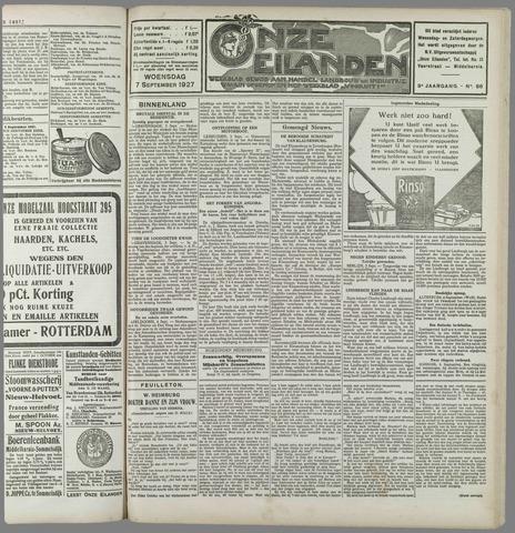 Onze Eilanden 1927-09-07