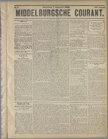 Middelburgsche Courant 1922-01-07