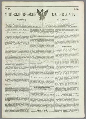 Middelburgsche Courant 1857-08-13