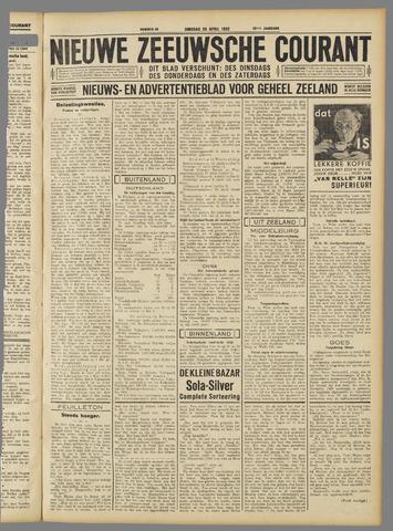 Nieuwe Zeeuwsche Courant 1932-04-26