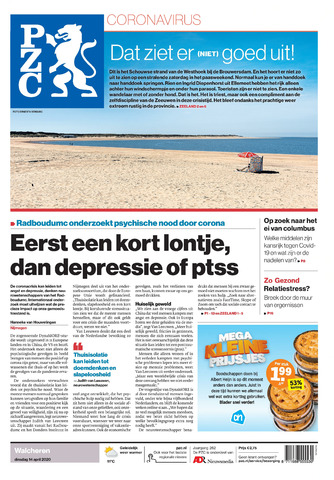 Provinciale Zeeuwse Courant 2020-04-14