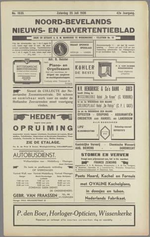 Noord-Bevelands Nieuws- en advertentieblad 1936-07-25