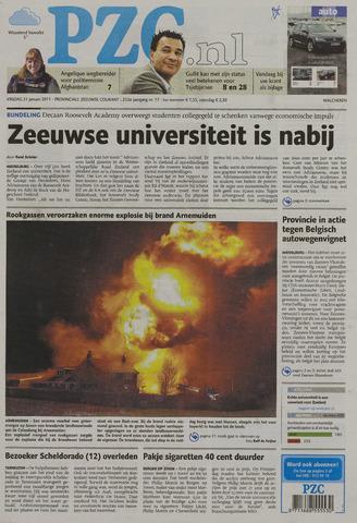 Provinciale Zeeuwse Courant 2011-01-21