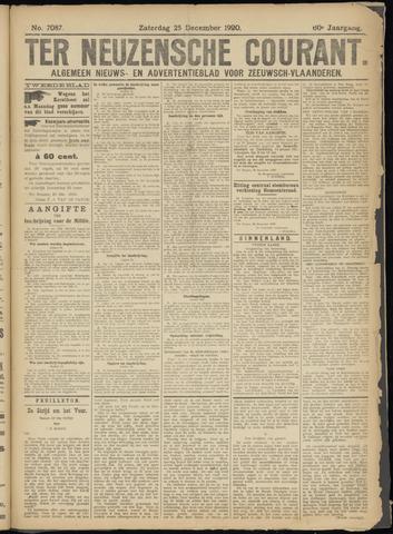 Ter Neuzensche Courant. Algemeen Nieuws- en Advertentieblad voor Zeeuwsch-Vlaanderen / Neuzensche Courant ... (idem) / (Algemeen) nieuws en advertentieblad voor Zeeuwsch-Vlaanderen 1920-12-25