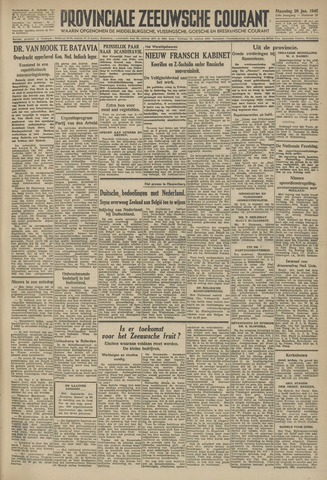 Provinciale Zeeuwse Courant 1946-01-28
