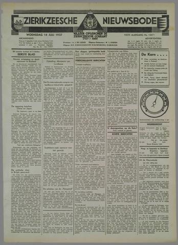 Zierikzeesche Nieuwsbode 1937-07-14