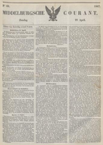 Middelburgsche Courant 1867-04-28