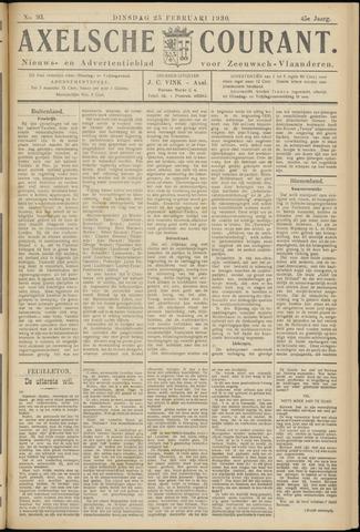 Axelsche Courant 1930-02-25