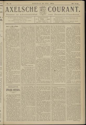 Axelsche Courant 1924-07-22