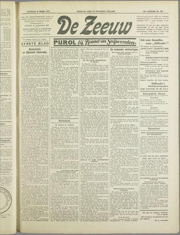 De Zeeuw. Christelijk-historisch nieuwsblad voor Zeeland 1937-03-13