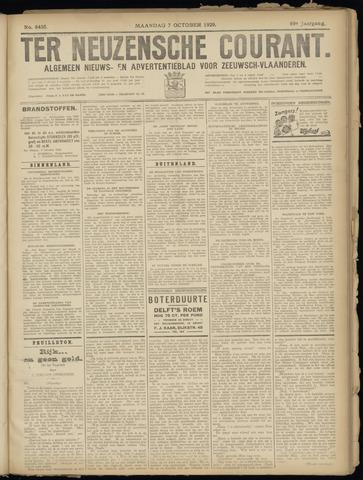 Ter Neuzensche Courant. Algemeen Nieuws- en Advertentieblad voor Zeeuwsch-Vlaanderen / Neuzensche Courant ... (idem) / (Algemeen) nieuws en advertentieblad voor Zeeuwsch-Vlaanderen 1929-10-07
