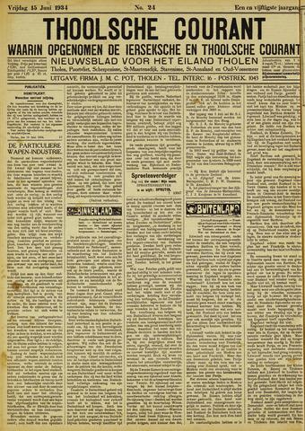 Ierseksche en Thoolsche Courant 1934-06-15