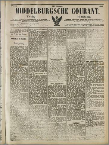 Middelburgsche Courant 1903-10-16