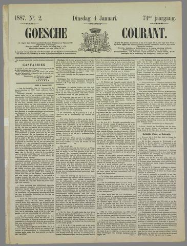 Goessche Courant 1887-01-04