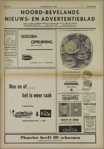Noord-Bevelands Nieuws- en advertentieblad 1965-01-09