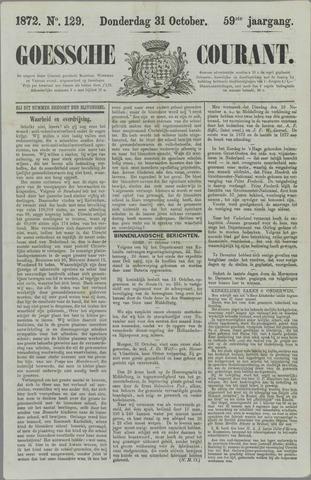 Goessche Courant 1872-10-31
