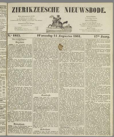 Zierikzeesche Nieuwsbode 1861-08-14
