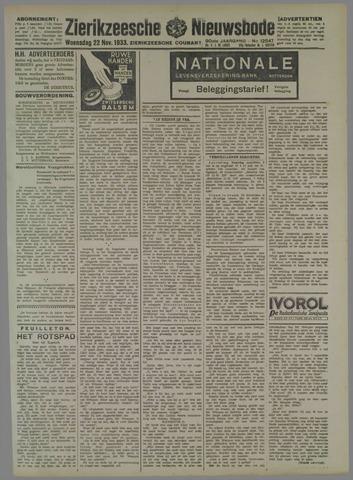 Zierikzeesche Nieuwsbode 1933-11-22