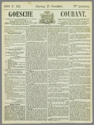 Goessche Courant 1894-12-25