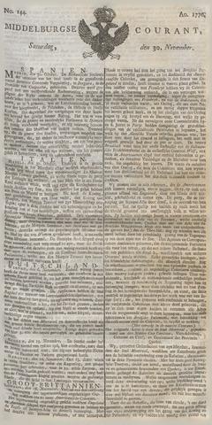 Middelburgsche Courant 1776-11-30
